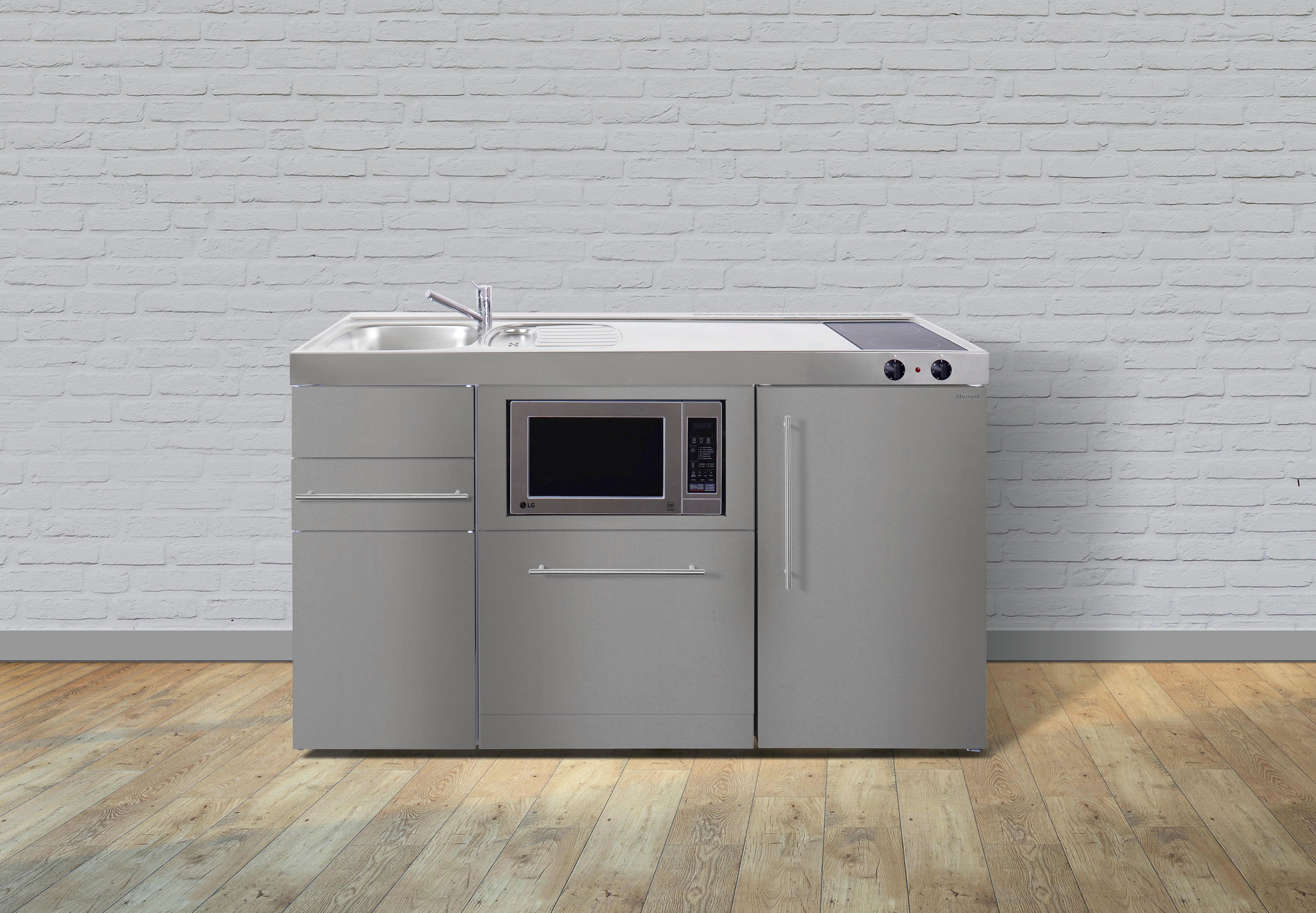 Miniküche 1 M Mit Kühlschrank : Miniküche soft close system spüle online kaufen ➤ xxxlutz