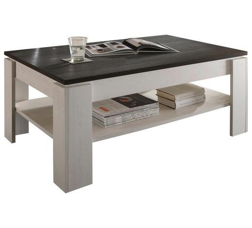 COUCHTISCH in Holzwerkstoff 110/65/47 cm   - Weiß/Pinienfarben, Design, Holzwerkstoff (110/65/47cm) - Carryhome