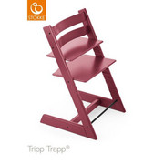 Tripp Trapp Hochstuhl Buche Hartholz, massiv Heather Pink - Pink/Beere, Basics, Holz (46/79/49cm) - STOKKE