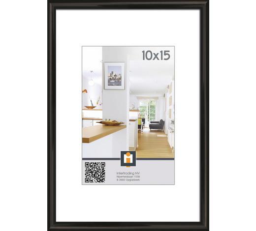 RÁM NA OBRAZY, 11/16 cm, černá - černá, Basics, umělá hmota/sklo (11/16cm)