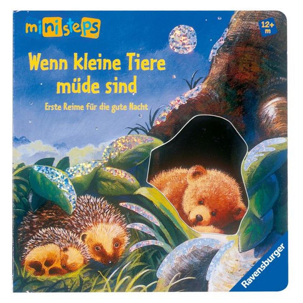 Pappbuch 'Wenn kleine Tiere müde sind' von Ravensburger