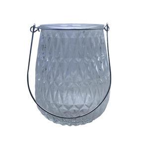 LJUSLYKTA - klar, Lifestyle, metall/glas (11,4/14,8cm) - Ambia Home