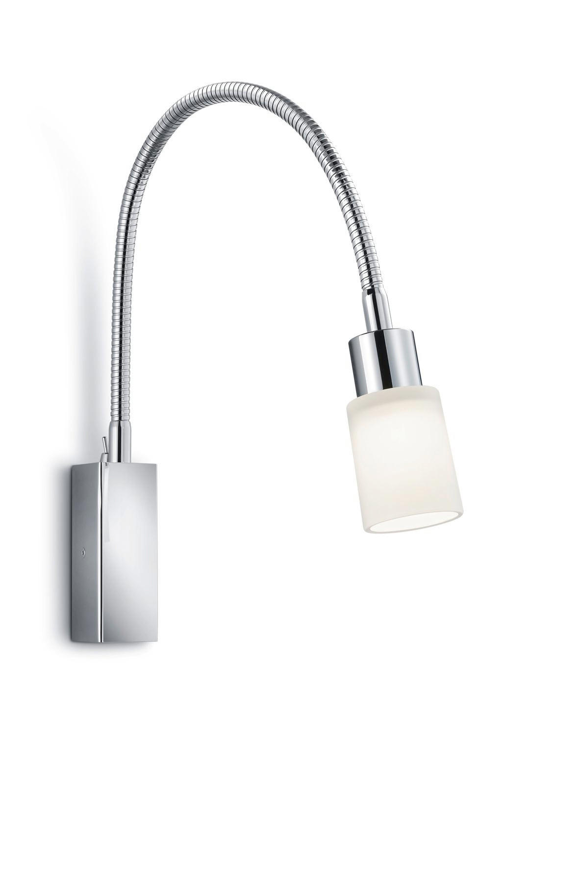 WANDLEUCHTE - Design, Metall (52,5cm)
