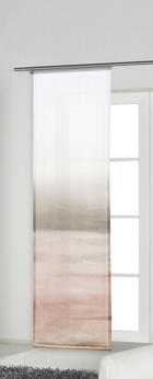PANEL ZAVJESA - svijetlo ružičasta/siva, Konvencionalno, tekstil (60/245cm) - Esposa
