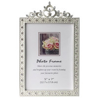 OKVIR ZA FOTOGRAFIJU - boje srebra, Basics, papir/staklo (14,7/23,7cm) - Ambia Home