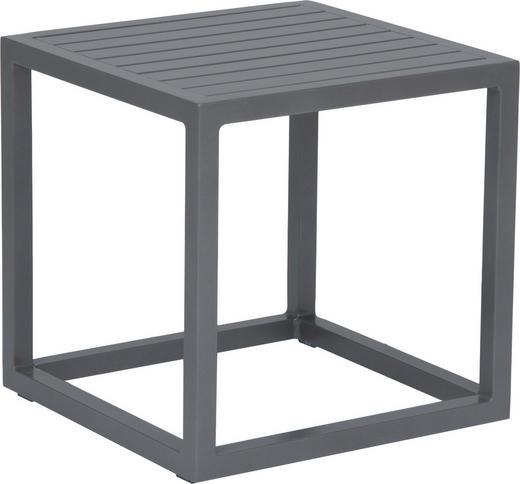 GARTENBEISTELLTISCH - Graphitfarben, Basics, Metall (40/40/40cm) - Stern
