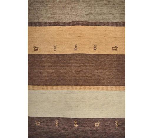 KOBEREC ORIENTÁLNÍ, 120/180 cm, hnědá - hnědá, Design, textil (120/180cm) - Esposa