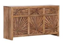 SIDEBOARD 140/80/43 cm  - Naturfarben, Design, Holz (140/80/43cm) - Carryhome