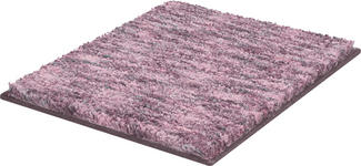BADTEPPICH  Hellrosa, Flieder  60/60 cm     - Hellrosa/Flieder, KONVENTIONELL, Kunststoff/Textil (60/60cm) - Esposa