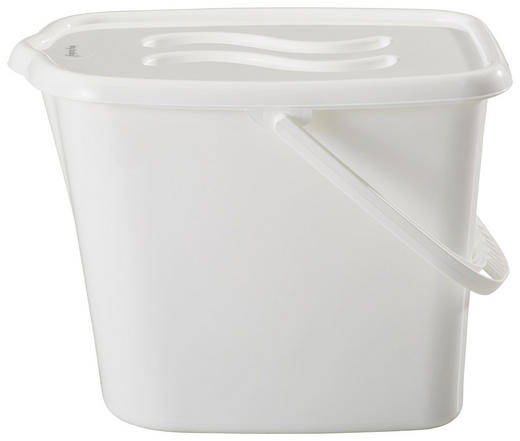 WINDELEIMER - Weiß, Basics, Kunststoff (28/36/27cm) - My Baby Lou