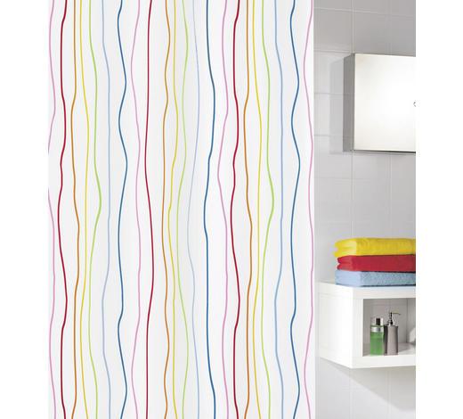 DUSCHVORHANG  Multicolor 180/200 cm - Multicolor, Trend, Textil (180/200cm) - Kleine Wolke