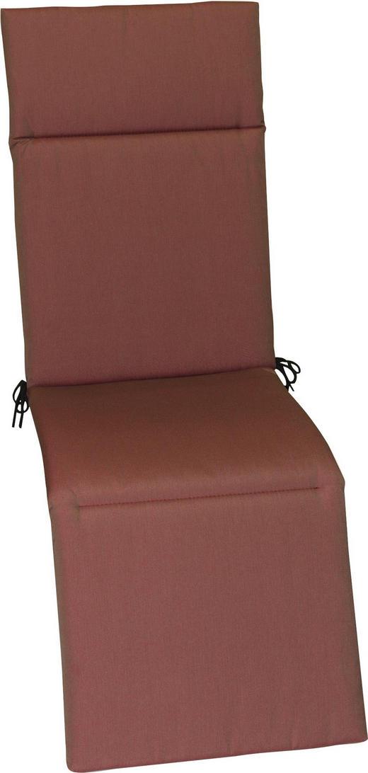 RELAXSESSELAUFLAGE Uni - Beere, Design, Textil (50/164/4cm)