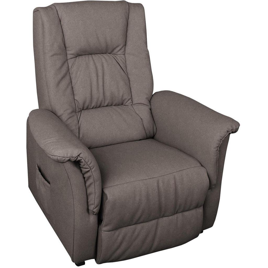 Xora FERNSEHSESSEL Mikrofaser Grau | Wohnzimmer > Sessel > Fernsehsessel | Textil | Xora