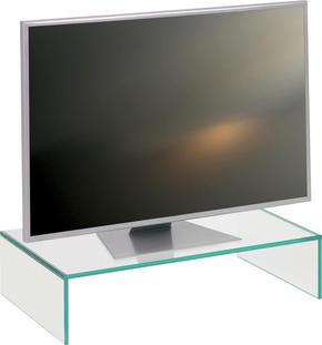 TV-HYLLA - klar, Design, glas (60/14/35cm) - Boxxx