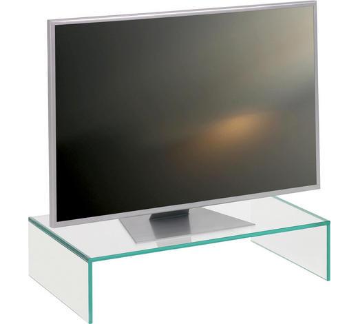 TV NÁSTAVEC, sklo, čiré - čiré, Design, sklo (60/14/35cm) - Boxxx