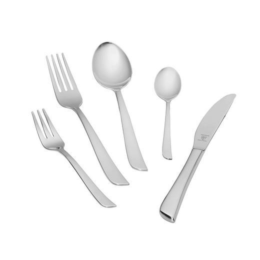BESTECKSET  60-teilig - Silberfarben, Basics, Metall (1cm) - JUSTINUS