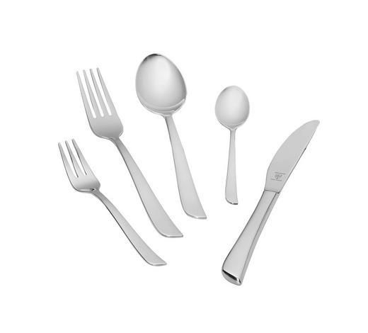SET PRIBORA ZA JELO - boje srebra, Konvencionalno, metal (1cm) - Justinus