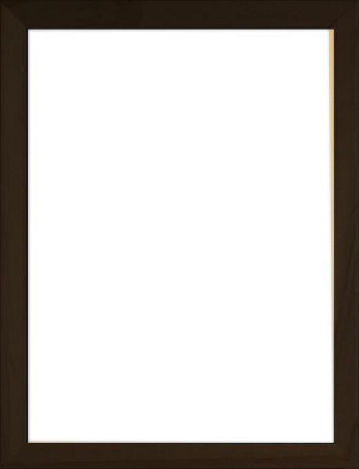 BILDERRAHMEN in Schwarz - Schwarz, Basics, Glas/Holz (73/53/3cm)