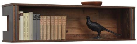 WANDBOARD in 113/29/23 cm Grau, Pinienfarben  - Grau/Pinienfarben, KONVENTIONELL, Holzwerkstoff (113/29/23cm) - Hom`in