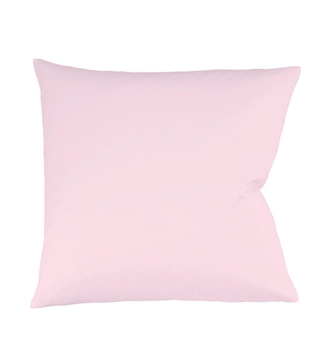 KISSENHÜLLE Rosa 40/40 cm - Rosa, Basics, Textil (40/40cm) - FLEURESSE