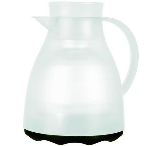 ISOLIERKANNE 1 L - Weiß, KONVENTIONELL, Kunststoff (18/16.5/22cm) - Emsa