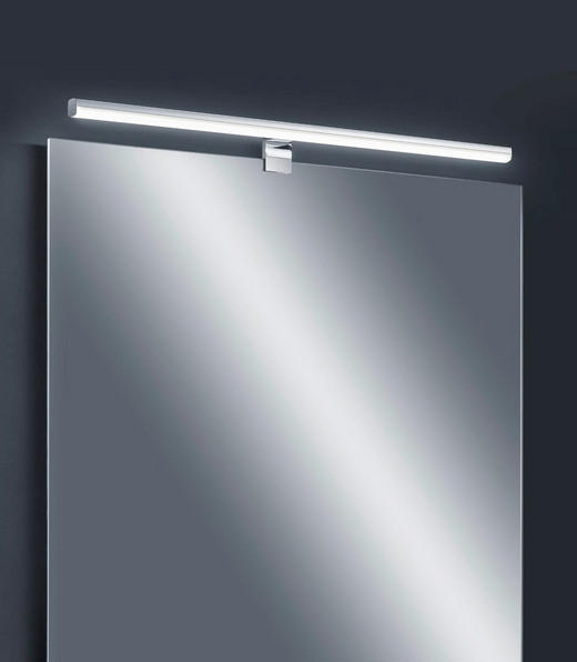 LED-WANDLEUCHTE - Chromfarben, Design, Metall (79/4/11cm) - Helestra