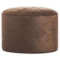 POUF in - Braun, Design, Textil (50/30cm)