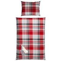 POVLEČENÍ - šedá/červená, Lifestyle, textil (140/200cm) - S. Oliver