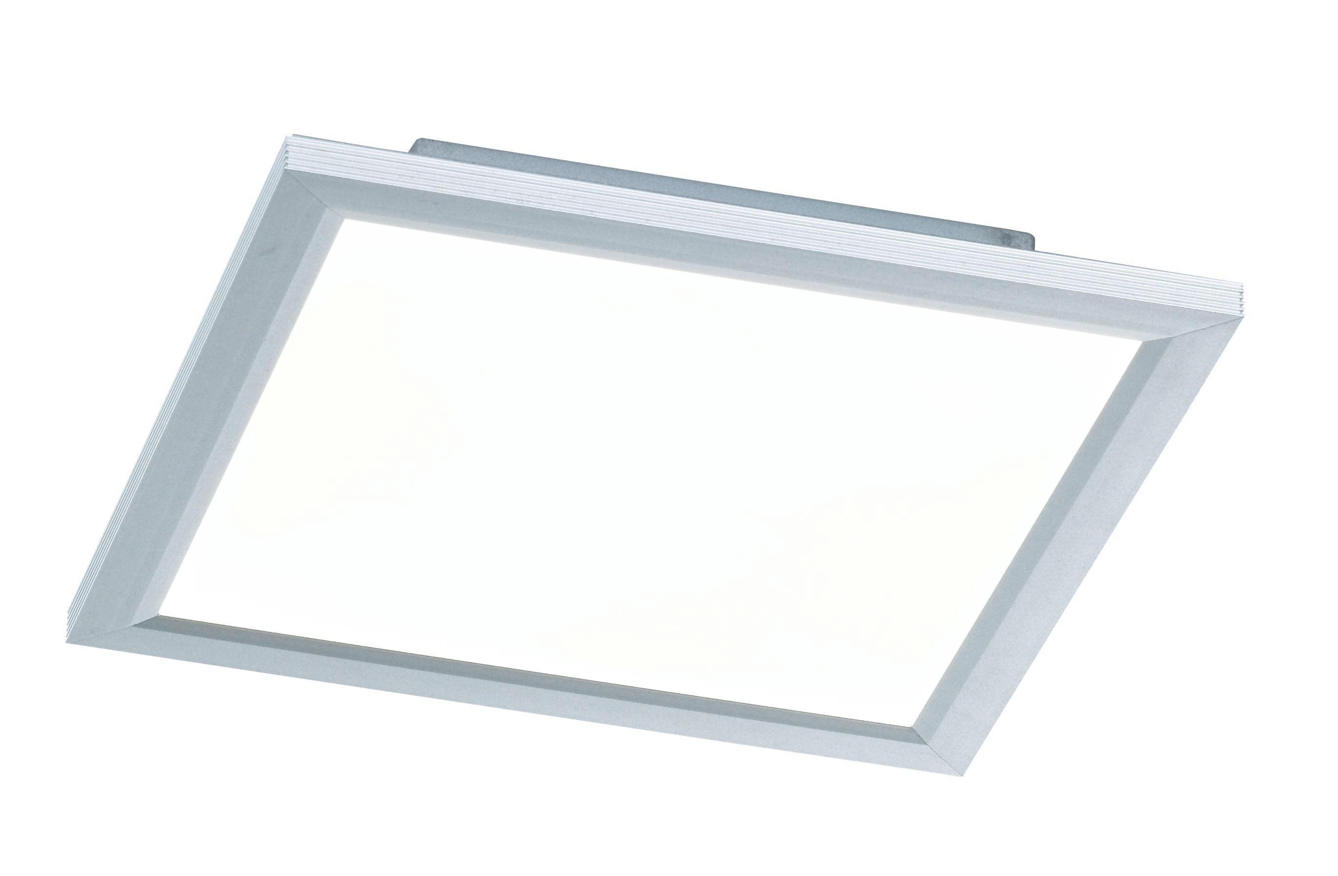 LED-DECKENLEUCHTE - Silberfarben, Design, Metall (30/5,5/30cm)