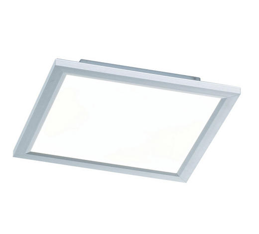 LED-PANEEL - Silberfarben, Design, Metall (30/5,5/30cm)