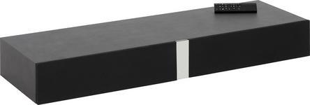 SOUNDSYSTEM Kunststoff Schwarz - Schwarz, Design, Kunststoff (109,4/14/36cm) - Voleo
