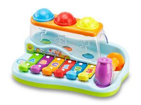 AKTIVITETSLEKSAK - multicolor, Basics, plast (26/11,5/16,5cm) - My Baby Lou