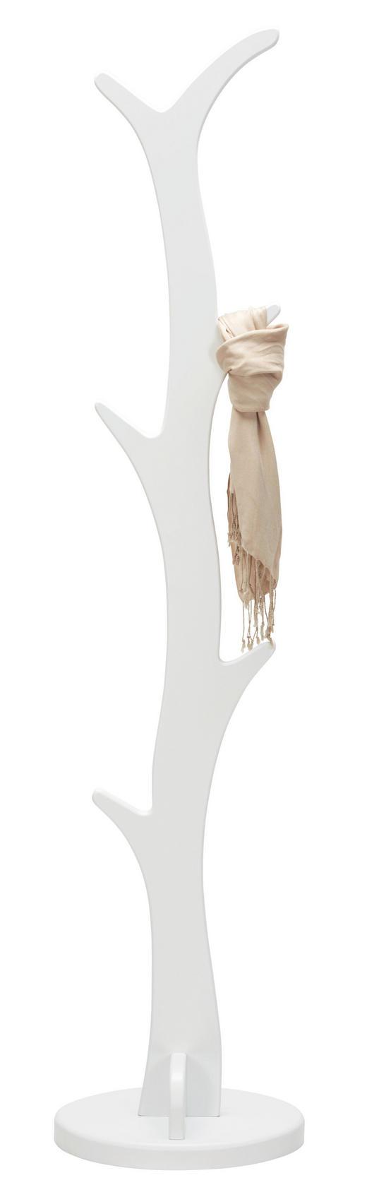 KLEIDERSTÄNDER Weiß - Weiß, Design (40/175/32cm) - Xora