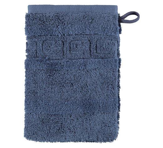 WASCHHANDSCHUH - Blau, Basics, Textil (16/22cm) - Cawoe