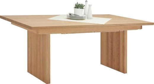 ESSTISCH Wildeiche massiv, mehrschichtige Massivholzplatte (Tischlerplatte) rechteckig Eichefarben - Eichefarben, Design, Holz (190/100/76,5cm) - Voglauer