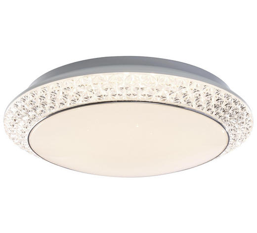 LED-DECKENLEUCHTE - Weiß, Design, Kunststoff (41/11,5cm)