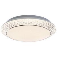 STROPNA LED SVETILKA VELDEN - bela, Design, umetna masa (41/11,5cm)