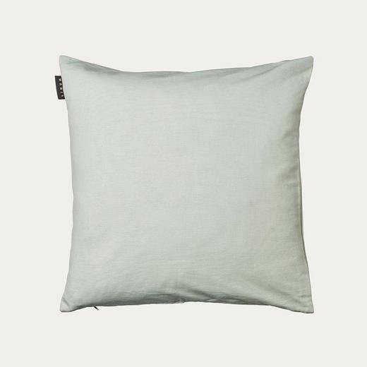 KISSENHÜLLE Hellgrün 50/50 cm - Hellgrün, Design, Textil (50/50cm) - Linum