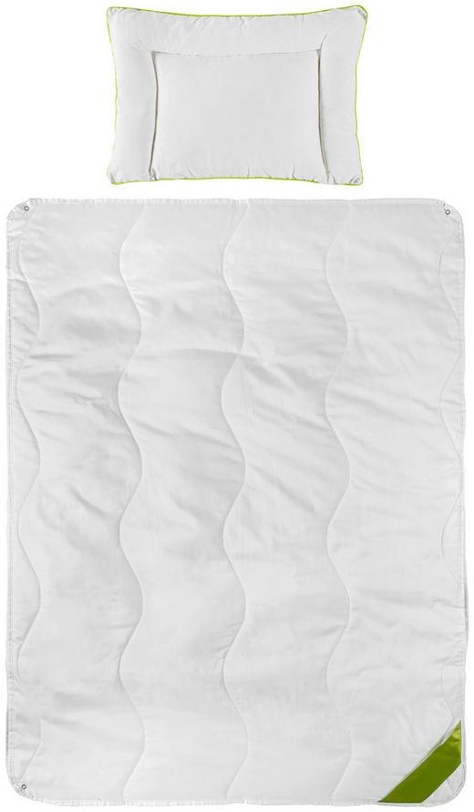 KINDERBETTSET - Weiß, Basics, Textil (100/135cm) - My Baby Lou