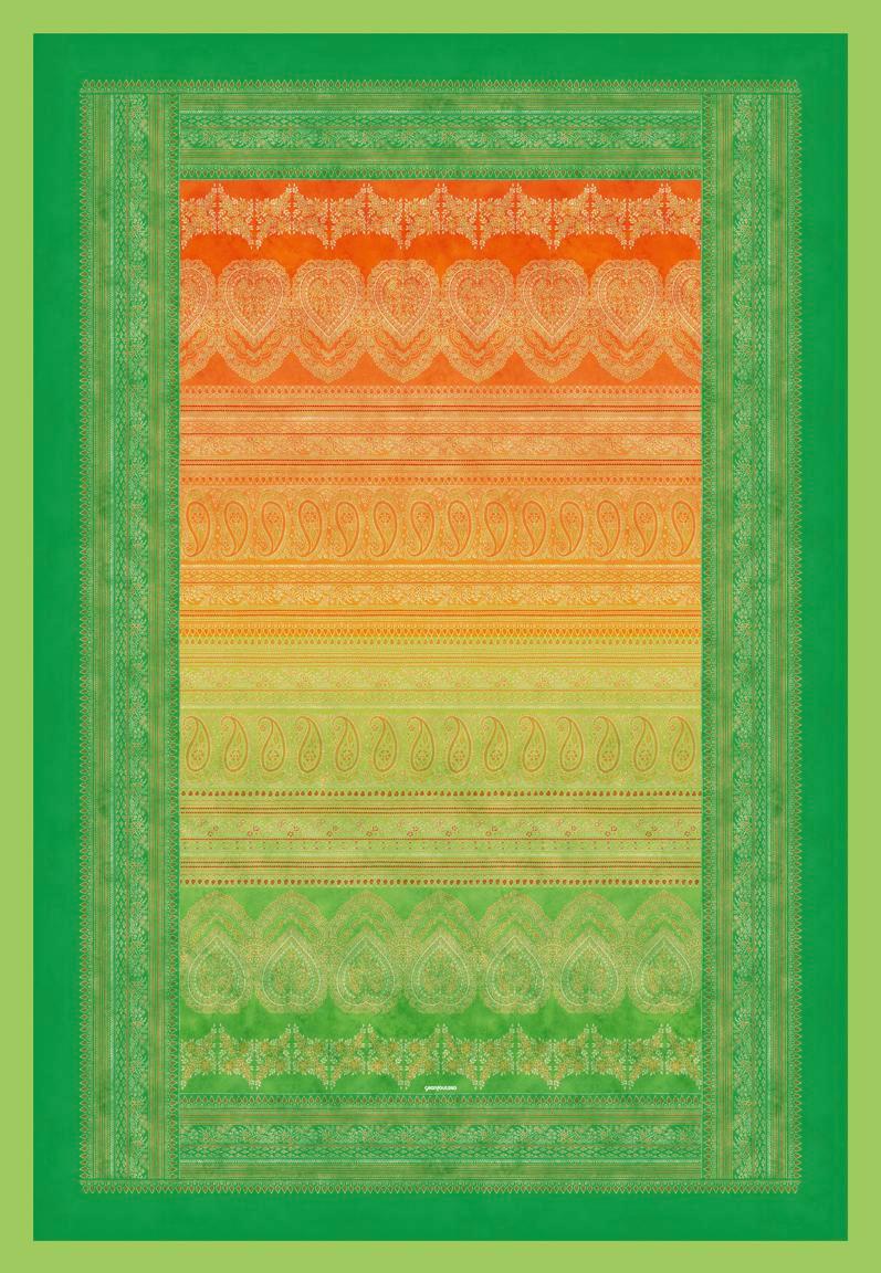PLAID 135/190 cm Grün - Grün, LIFESTYLE, Textil (135/190cm) - BASSETTI