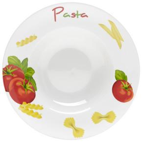 PASTATALLRIK - vit/röd, Basics, keramik (27cm) - Homeware