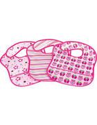 LÄTZCHEN 3-teilig  - Rosa, Basics, Textil (28/39cm) - My Baby Lou