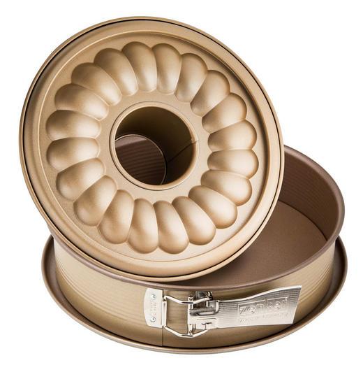 SPRINGFORM - Goldfarben, Metall (26/6,5cm)