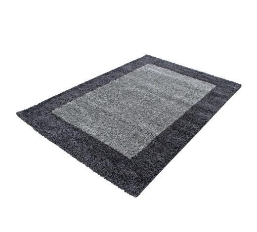 HOCHFLORTEPPICH - Grau, KONVENTIONELL, Textil (80/150cm) - Novel