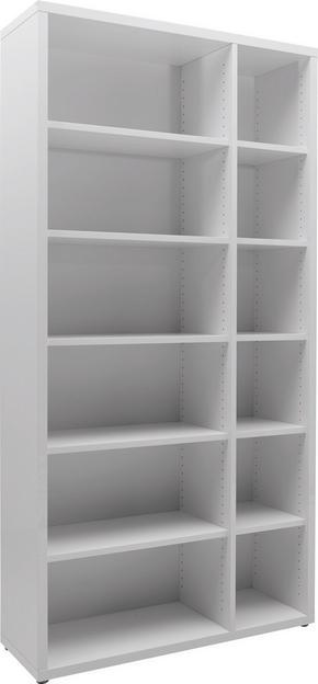 HYLLA - vit, Design, träbaserade material (112,8/219,8/37cm) - Voleo