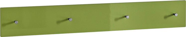 GARDEROBENLEISTE Grün  - Grün, Design (106/15/5cm) - Xora