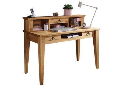 Schreibtisch Kiefer Massiv Eichefarben Online Kaufen Xxxlutz