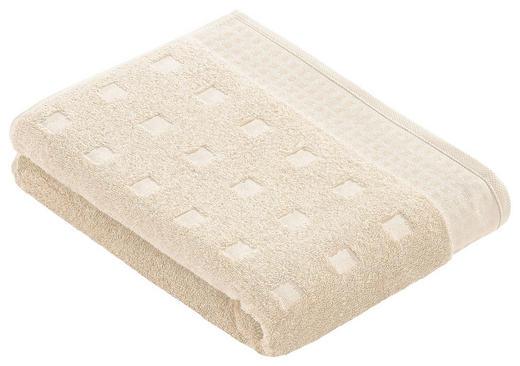 DUSCHTUCH 67/140 cm - Creme, Basics, Textil (67/140cm) - VOSSEN