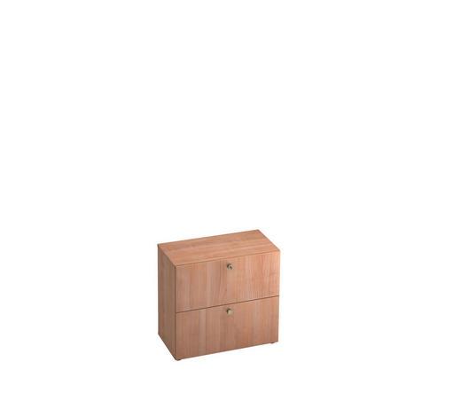 HÄNGEREGISTERELEMENT - Nussbaumfarben/Alufarben, KONVENTIONELL, Holzwerkstoff/Kunststoff (80/74,8/42cm)