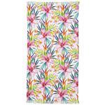 HAMAMTUCH 90/160 cm  - Dunkelgrün/Pink, Design, Textil (90/160cm) - Esposa